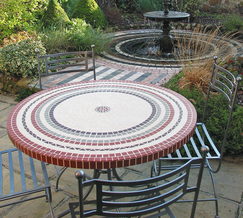 Bespoke Mosaic Table Mosaic And Stone Tables